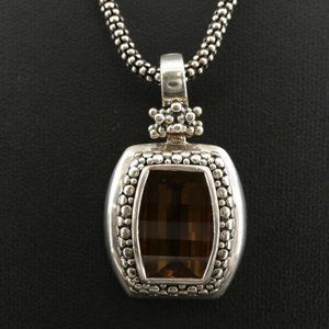 Michael Dawkins Sterling Citrine Enhancer Pendant